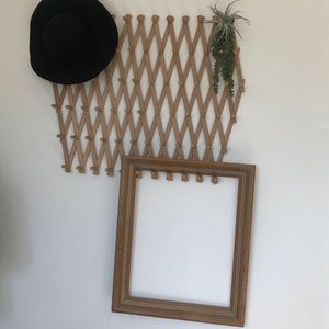 Decorative frame for accent wall